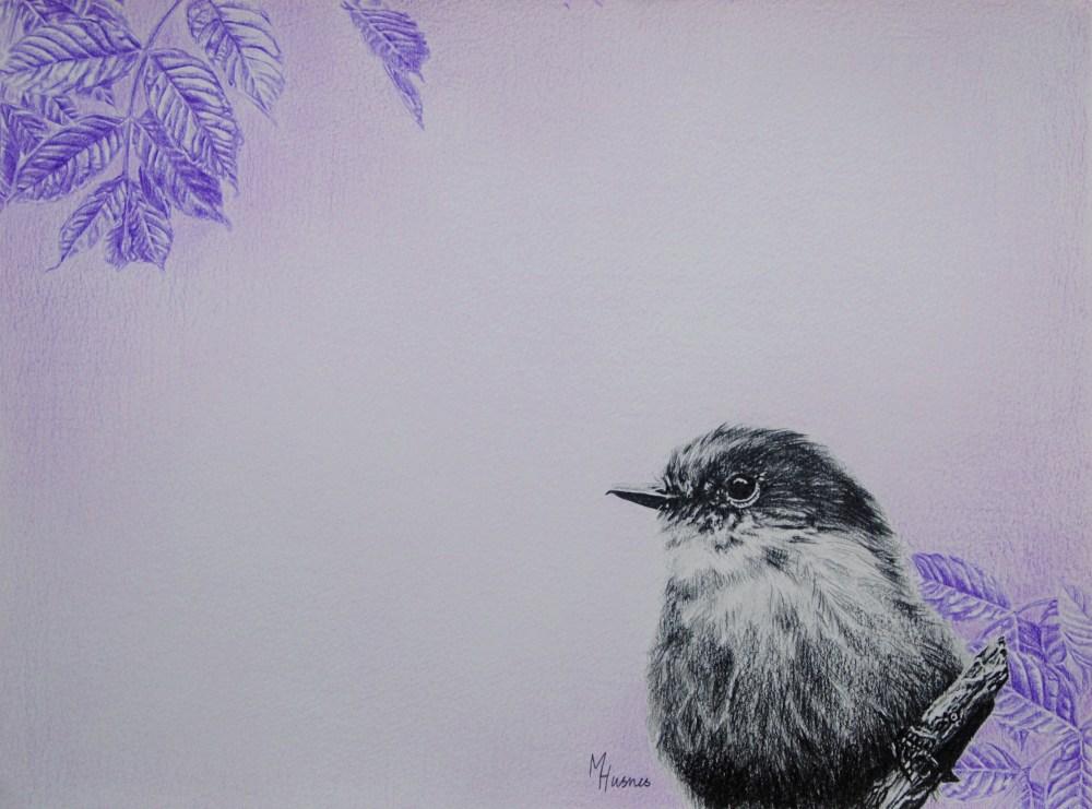 Fugl i tre